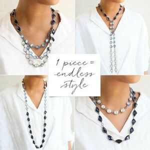 Chloe + Isabel Jewelry - Chloe + Isabel Rue Royale Convertible Necklace